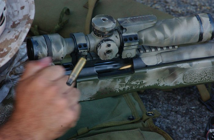 Sistema Bolt Action su Remingon M40